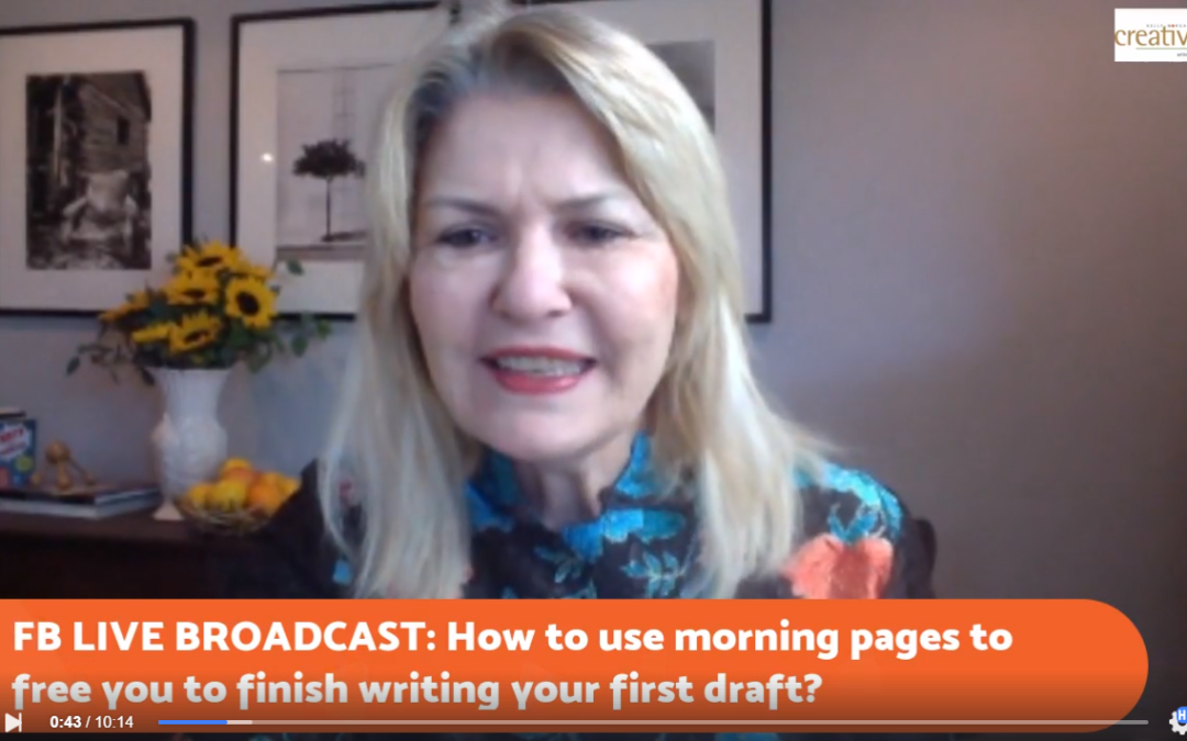 How To Use Morning Pages (or Free-Writing) to Release Fears, Stop Procrastinating and Finally Finish a First Draft (with Joy)