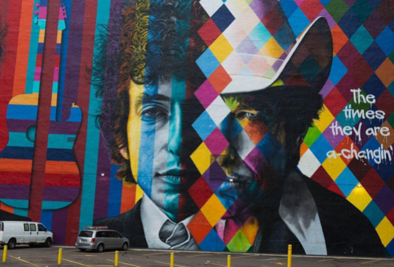 Bob Dylan: If Your Life is a Changin' — Write Now